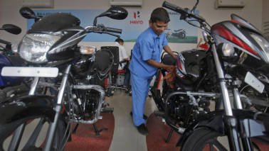 Hero MotoCorp gains despite muted Q4 results; Deutsche Bank maintains hold rating