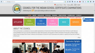 Declared: ICSE Board Class 10 Result 2017, ISC Class 12 Result 2017 are out; check on cisce.org