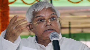 BJP does not have the courage to stifle me, says Lalu after I-T raids
