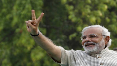 PM Modi given warm welcome by Indians in US