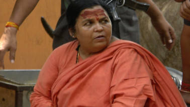 Uma Bharti on 2,500-km tour along Ganga to oversee clean-up