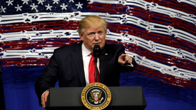 US options on North Korea 'effective and overwhelming': Donald Trump