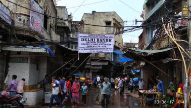 Traders cautious in Azadpur mandi, markets in Old Delhi shut in protest against GST