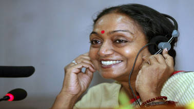 Will contest on plank of democratic values: presidential candidate Meira Kumar