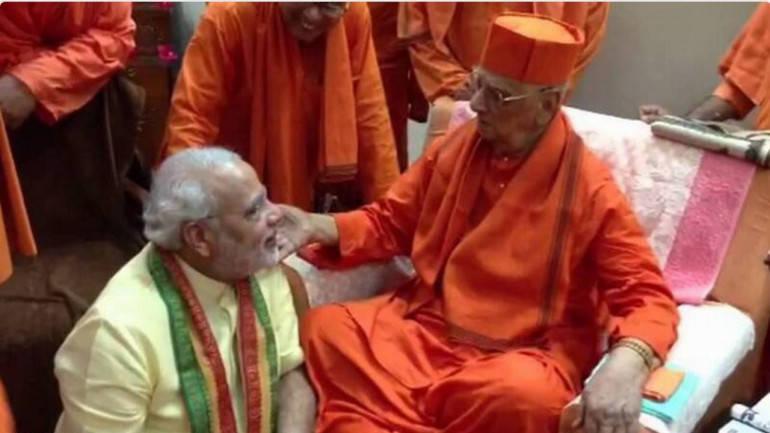 Swami Atmasthanandaji Maharaj dead, PM says personal loss