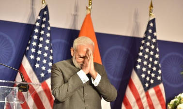 In address to Indian-Americans, Modi 'Attocks' Pakistan