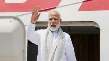 PM Modi returns from three-nation tour