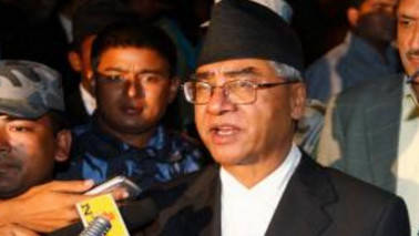 Nepalese PM Sher Bahadur Deuba arrives on four-day India visit