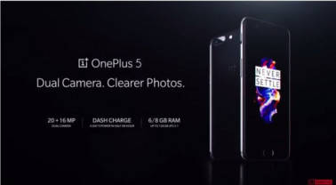 'Flagship killer' OnePlus 5 launched in India at Rs 32,999; Features, specifications, availability and more