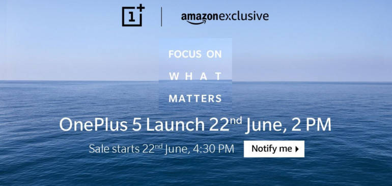 OnePlus 5 launch today: Price, specifications and India sale details to be announced