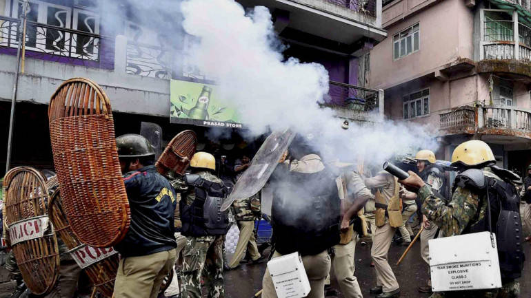 GJM-police clashes: One killed, IRB officer seriously injured
