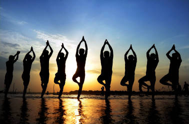 Challenges faced by the real estate sector can all be overcome through Yoga