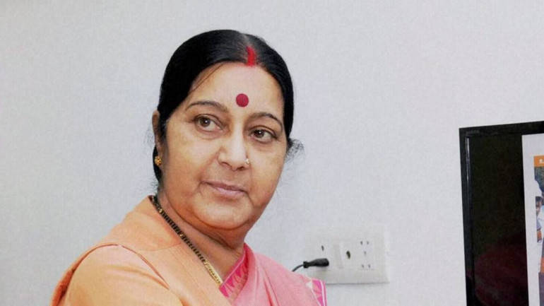 39 abducted Indians in Iraq may be in jail: Swaraj