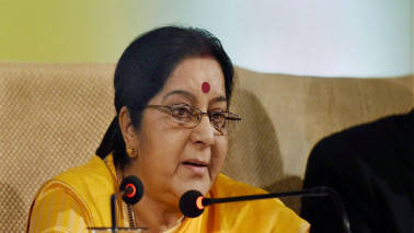 Sushma Swaraj calls on Afghan president, discusses bilateral, regional issues
