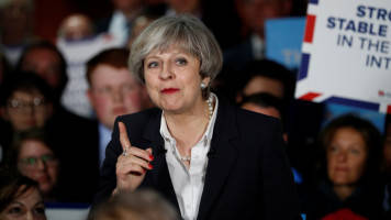 15 MPs agree to sign no-confidence motion against British Prime Minister Theresa May, says report