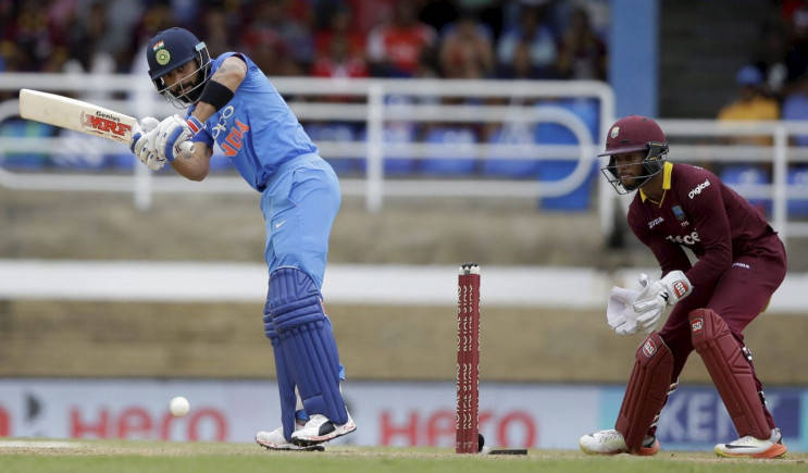 India crush Windies by 105 runs in second ODI, take 1-0 lead in series