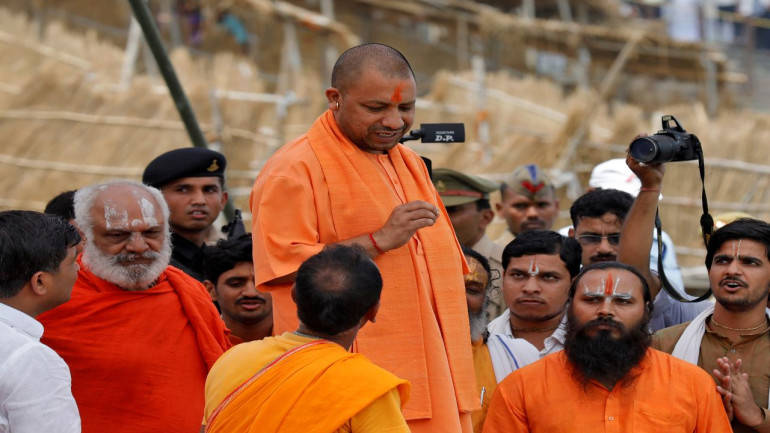 UP CM suspends 11 officials for 'dereliction of duty'