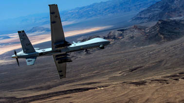 'US considering Indian request of armed drones for air force'