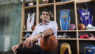 NBA chief aims to make Basketball as India's No. 2 sport after cricket