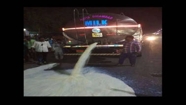 Why are Maharashtra's farmers spilling milk on the streets?