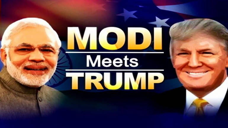 Face-to-face after two phone calls: What to expect from today#39;s Modi-Trump encounter