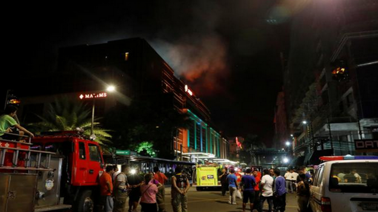 LIVE: At least 35 dead, 70 hurt in botched robbery at Philippines casino