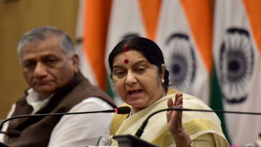 No report of Indian casualty in Spain terror attack: Sushma Swaraj