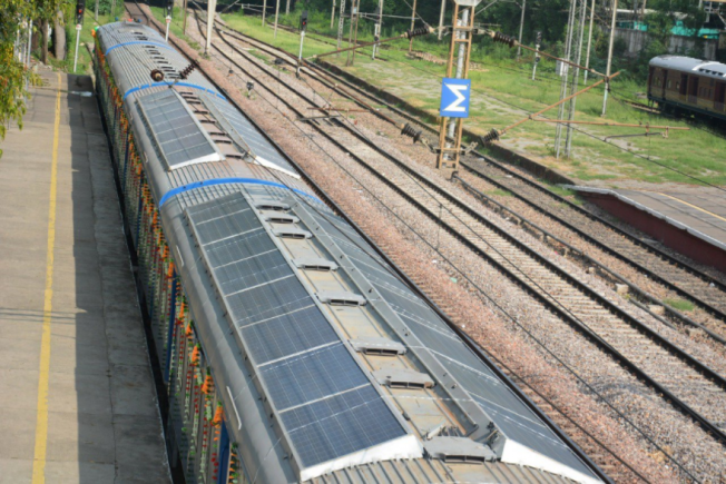 Railways launches India's first solar-powered train: All you need to know