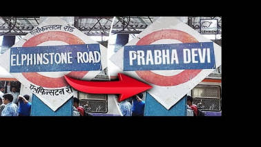 Now, Mumbai's Elphinstone Road station renamed as Prabhadevi