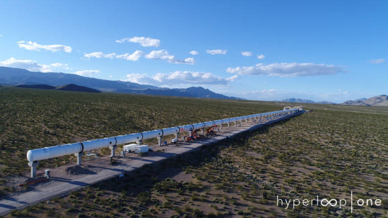 Hyperloop One completes world's first full systems test