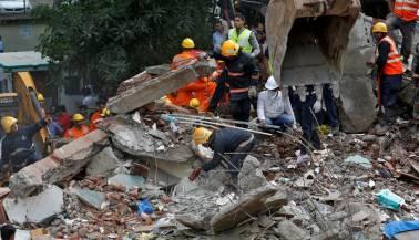 Eight killed as residential building collapses in Mumbai's Ghatkopar