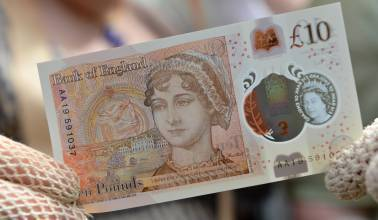 Only pride, no prejudice: Jane Austen is the face of England's new 10 pound note