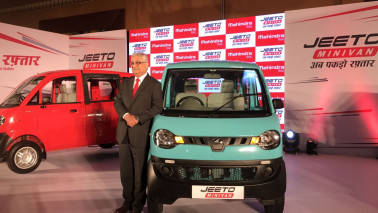 The growth blueprint: M&M launches mini-van 'Jeeto'