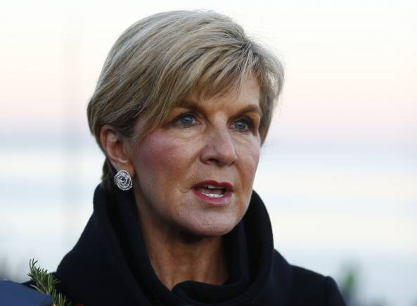 Australian FM arrives tomorrow; boosting defence, trade ties to be focus