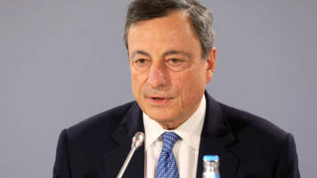 'We aren't where we want to be yet,' ECB's Draghi says, leaving monetary policy unchanged