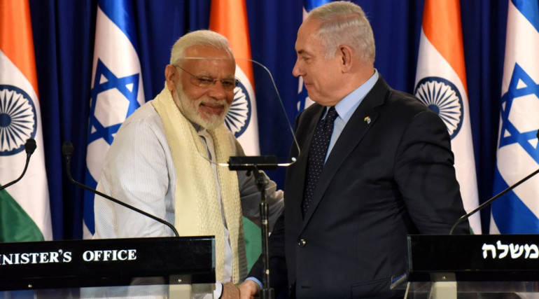 I love you and your people in India, Moshe tells Modi