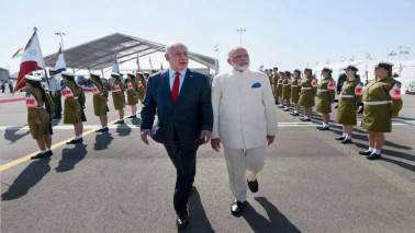 Palestine sees red over PM Narendra Modi's historic visit to Israel