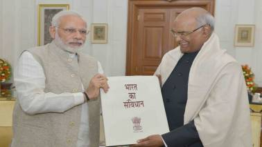 PM Narendra Modi greets Ram Nath Kovind on his birthday