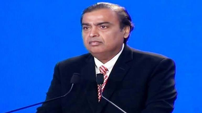 Mukesh Ambani at India Mobile Congress