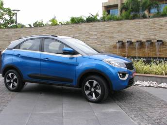 Behind the wheels of Tata Nexon: A first look