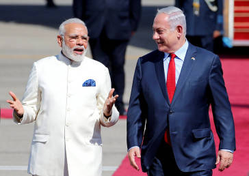 PM Modi hails sacrifices of Israeli PM's brother 41 years ago