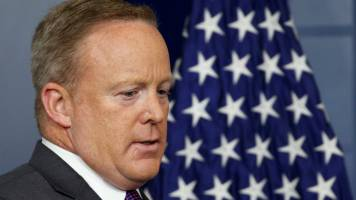 Spicer resigns as White House press secretary