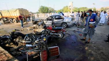 Huge blast rocks Somalia's capital; police say 20 killed