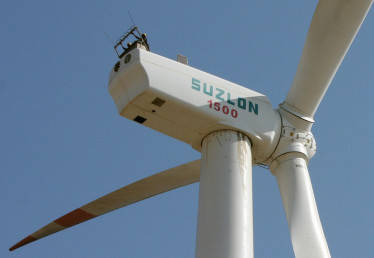Suzlon Energy gains 4% on 50.40 MW order win from Alfanar Group