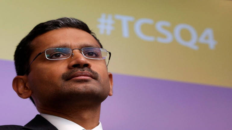 TCS Q1 Profit falls 10% to ₹5945 Crore, revenue remains steady