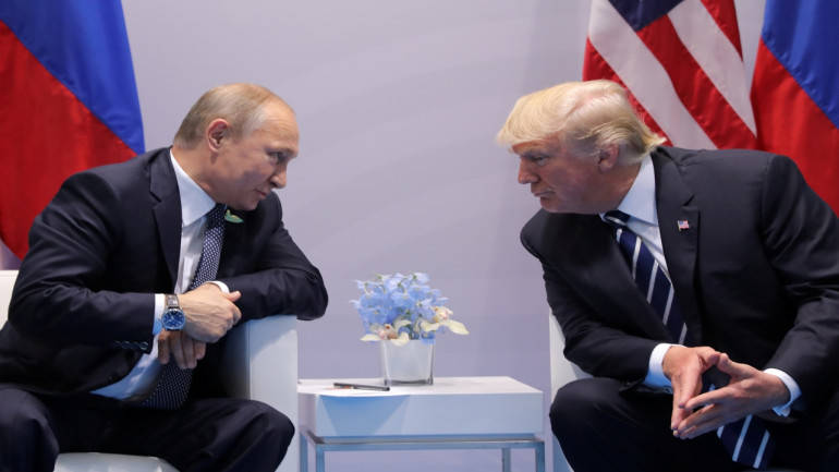 Trump willing to invite Putin to White House, but not yet
