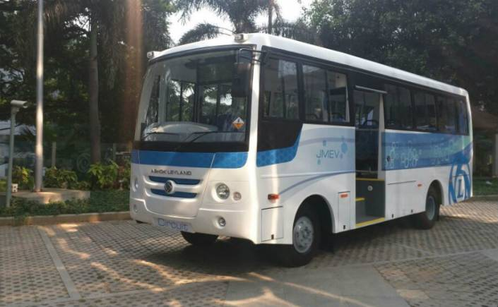 Ashok Leyland gains 2% on order win of Rs 120 crore from Rivigo
