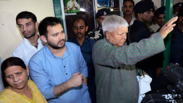Lalu looks to shield Tejashwi from corruption charges; pushes CM Nitish Kumar to resign