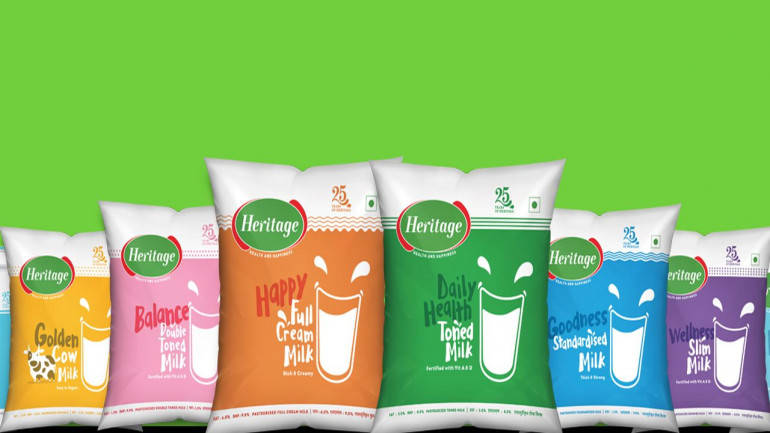 Heritage Foods Q1 profit down by 39.35%