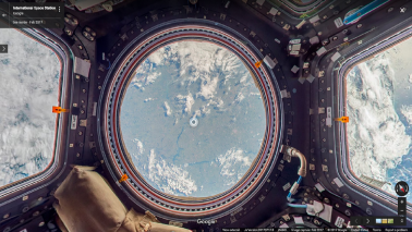 Now see inside the International Space Station using Google Street View